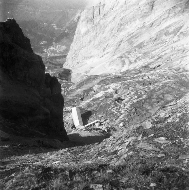 Sortie de terrain à Aspin-Aure des géographes de l'Université Michel de Montaigne - Bordeaux III en 1962 / Cliché n°1